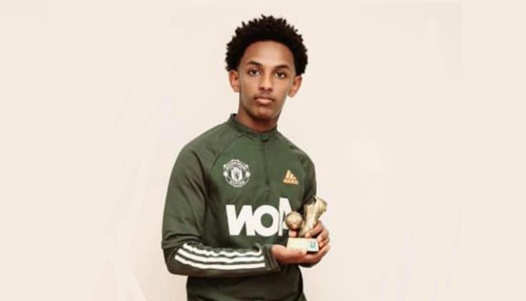 Ethiopian Born Adonya Wondwosen Signs For Manchester United Welcome To Fana Broadcasting Corporate S C